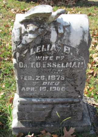 ESSELMAN, LELIA - Randolph County, Arkansas | LELIA ESSELMAN - Arkansas Gravestone Photos