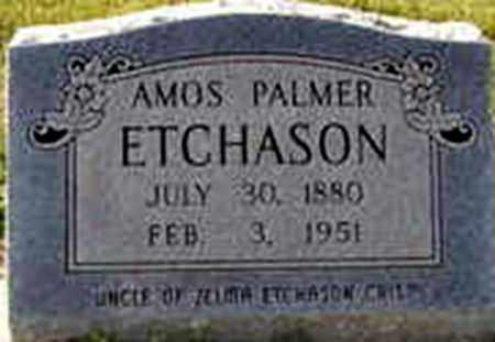 ETCHASON, AMOS PALMER - Randolph County, Arkansas | AMOS PALMER ETCHASON - Arkansas Gravestone Photos