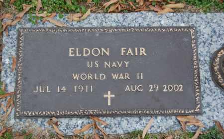 FAIR (VETERAN WWII), ELDON - Randolph County, Arkansas | ELDON FAIR (VETERAN WWII) - Arkansas Gravestone Photos