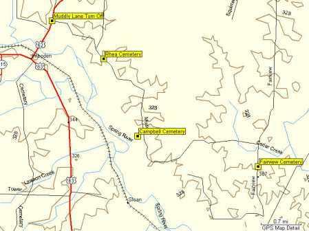 *FAIRVIEW CEMETERY AREA MAP,  - Randolph County, Arkansas |  *FAIRVIEW CEMETERY AREA MAP - Arkansas Gravestone Photos