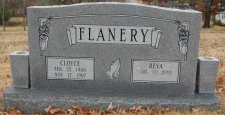 FLANERY, CLOYCE - Randolph County, Arkansas | CLOYCE FLANERY - Arkansas Gravestone Photos