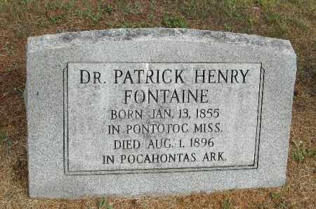 FONTAINE DR, PATRICK HENRY - Randolph County, Arkansas | PATRICK HENRY FONTAINE DR - Arkansas Gravestone Photos
