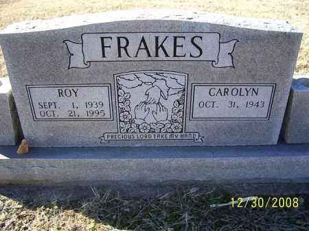FRAKES, ROY - Randolph County, Arkansas | ROY FRAKES - Arkansas Gravestone Photos