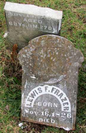 FRAZER, LEWIS F - Randolph County, Arkansas   LEWIS F FRAZER - Arkansas Gravestone Photos