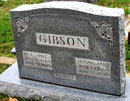BROWN GIBSON, SUSAN ANN - Randolph County, Arkansas | SUSAN ANN BROWN GIBSON - Arkansas Gravestone Photos