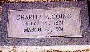 GOING, CHARLES ASROE - Randolph County, Arkansas   CHARLES ASROE GOING - Arkansas Gravestone Photos