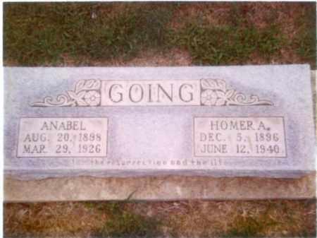 GOING, HOMER ASROE - Randolph County, Arkansas | HOMER ASROE GOING - Arkansas Gravestone Photos