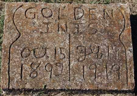 GOLDEN, INIS - Randolph County, Arkansas | INIS GOLDEN - Arkansas Gravestone Photos