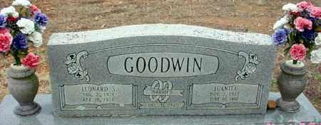 GOODWIN, LEONARD - Randolph County, Arkansas   LEONARD GOODWIN - Arkansas Gravestone Photos