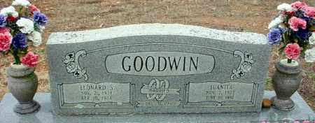 GOODWIN, LEONARD - Randolph County, Arkansas | LEONARD GOODWIN - Arkansas Gravestone Photos