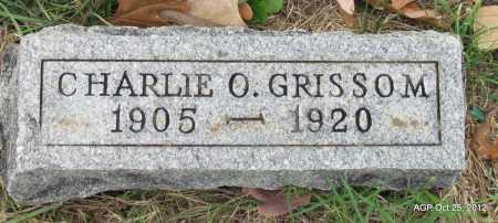 GRISSOM, CHARLIE O - Randolph County, Arkansas | CHARLIE O GRISSOM - Arkansas Gravestone Photos