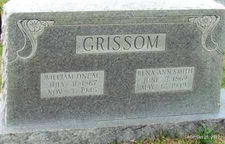 GRISSOM, RENA ANN - Randolph County, Arkansas   RENA ANN GRISSOM - Arkansas Gravestone Photos