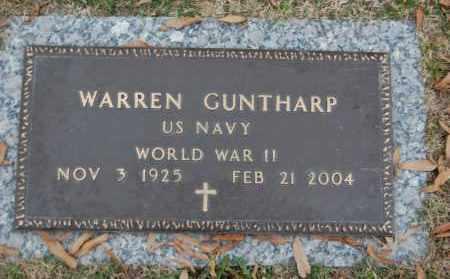 GUNTHARP (VETERAN WWII), WARREN - Randolph County, Arkansas   WARREN GUNTHARP (VETERAN WWII) - Arkansas Gravestone Photos