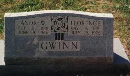 GWINN, ANDREW JACKSON - Randolph County, Arkansas | ANDREW JACKSON GWINN - Arkansas Gravestone Photos