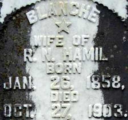 HAMIL, BLANCHE - Randolph County, Arkansas   BLANCHE HAMIL - Arkansas Gravestone Photos