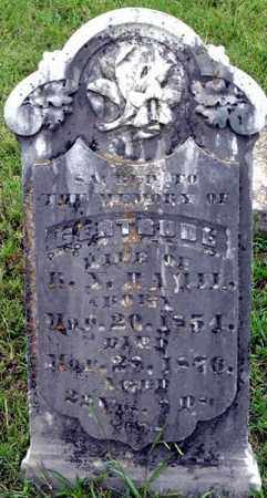 KIBLER HAMIL, CATHERINE GERTRUDE - Randolph County, Arkansas   CATHERINE GERTRUDE KIBLER HAMIL - Arkansas Gravestone Photos