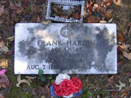 HARDIN (VETERAN WWI), FRANK - Randolph County, Arkansas   FRANK HARDIN (VETERAN WWI) - Arkansas Gravestone Photos