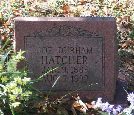 "HATCHER, JOSEPH DURHAM ""JOE"" - Randolph County, Arkansas   JOSEPH DURHAM ""JOE"" HATCHER - Arkansas Gravestone Photos"