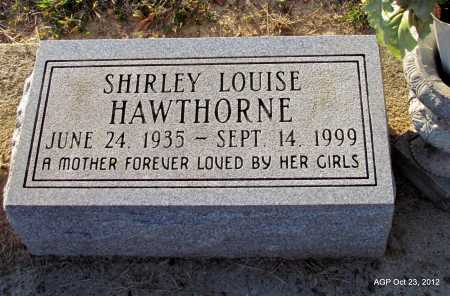 BATEY HAWTHORNE, SHIRLEY LOUISE - Randolph County, Arkansas | SHIRLEY LOUISE BATEY HAWTHORNE - Arkansas Gravestone Photos
