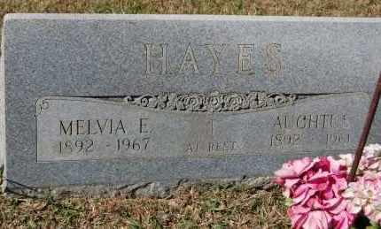 HAYES, MELVIA E. - Randolph County, Arkansas   MELVIA E. HAYES - Arkansas Gravestone Photos