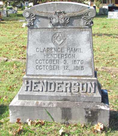 HENDERSON, CLARENCE HAMIL - Randolph County, Arkansas | CLARENCE HAMIL HENDERSON - Arkansas Gravestone Photos