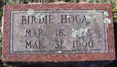 HOGAN, BIRDIE - Randolph County, Arkansas | BIRDIE HOGAN - Arkansas Gravestone Photos