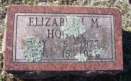 HOGAN, ELIZABETH M. - Randolph County, Arkansas | ELIZABETH M. HOGAN - Arkansas Gravestone Photos