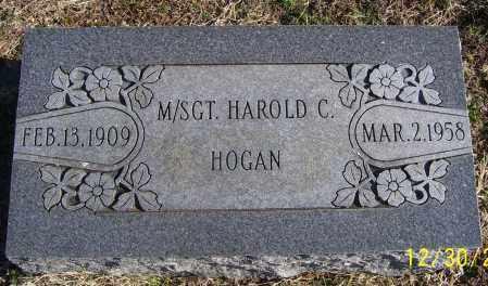 HOGAN (VETERAN), HAROLD C - Randolph County, Arkansas | HAROLD C HOGAN (VETERAN) - Arkansas Gravestone Photos