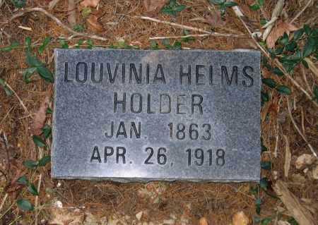 HELMS HOLDER, LOUVINIA - Randolph County, Arkansas   LOUVINIA HELMS HOLDER - Arkansas Gravestone Photos