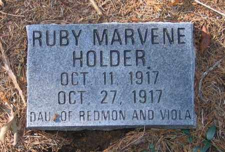 HOLDER, RUBY MARVENE - Randolph County, Arkansas | RUBY MARVENE HOLDER - Arkansas Gravestone Photos