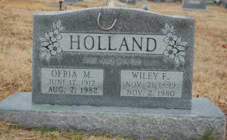 HOLLAND, OFRIA M - Randolph County, Arkansas   OFRIA M HOLLAND - Arkansas Gravestone Photos