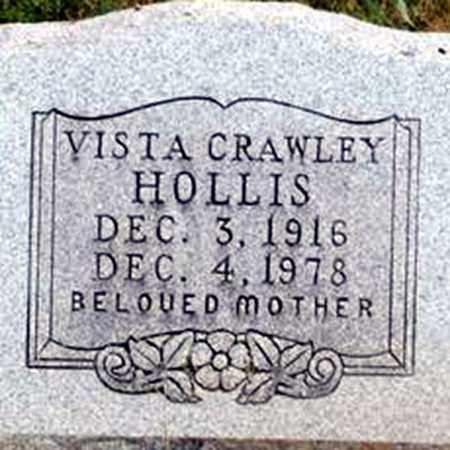 CRAWLEY HOLLIS, VISTA - Randolph County, Arkansas | VISTA CRAWLEY HOLLIS - Arkansas Gravestone Photos
