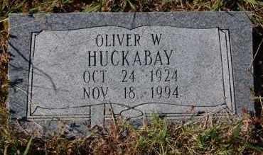 HUCKABAY, OLIVER W. - Randolph County, Arkansas | OLIVER W. HUCKABAY - Arkansas Gravestone Photos