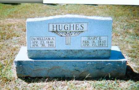 HUGHES, MARY E. - Randolph County, Arkansas   MARY E. HUGHES - Arkansas Gravestone Photos