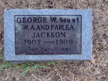 JACKSON, GEORGE W - Randolph County, Arkansas | GEORGE W JACKSON - Arkansas Gravestone Photos