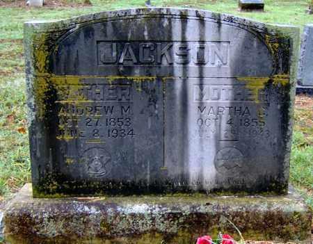 JACKSON, ANDREW MANLEY - Randolph County, Arkansas | ANDREW MANLEY JACKSON - Arkansas Gravestone Photos