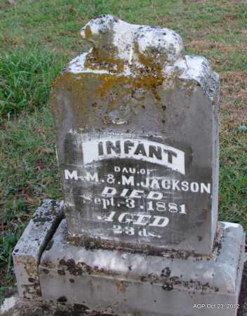 JACKSON, INFANT DAUGHTER - Randolph County, Arkansas | INFANT DAUGHTER JACKSON - Arkansas Gravestone Photos