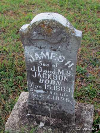 JACKSON, JAMES H - Randolph County, Arkansas | JAMES H JACKSON - Arkansas Gravestone Photos