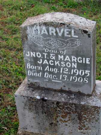 JACKSON, MARVEL - Randolph County, Arkansas   MARVEL JACKSON - Arkansas Gravestone Photos
