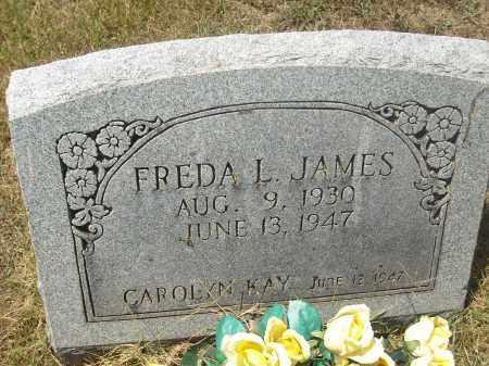 JAMES, FREDA L. - Randolph County, Arkansas | FREDA L. JAMES - Arkansas Gravestone Photos