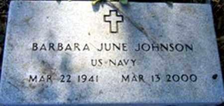 JOHNSON (VETERAN), BARBARA JUNE - Randolph County, Arkansas | BARBARA JUNE JOHNSON (VETERAN) - Arkansas Gravestone Photos