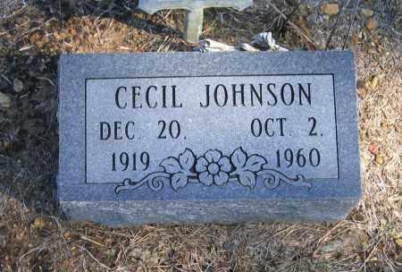 JOHNSON, CECIL - Randolph County, Arkansas | CECIL JOHNSON - Arkansas Gravestone Photos