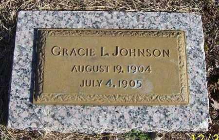 JOHNSON, GRACIE L. - Randolph County, Arkansas | GRACIE L. JOHNSON - Arkansas Gravestone Photos