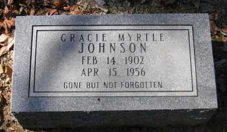 JOHNSON, GRACIE MYRTLE - Randolph County, Arkansas | GRACIE MYRTLE JOHNSON - Arkansas Gravestone Photos