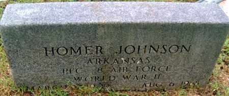 JOHNSON (VETERAN WWII), HOMER HITE - Randolph County, Arkansas | HOMER HITE JOHNSON (VETERAN WWII) - Arkansas Gravestone Photos