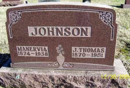 JOHNSON, MANERVIA - Randolph County, Arkansas   MANERVIA JOHNSON - Arkansas Gravestone Photos