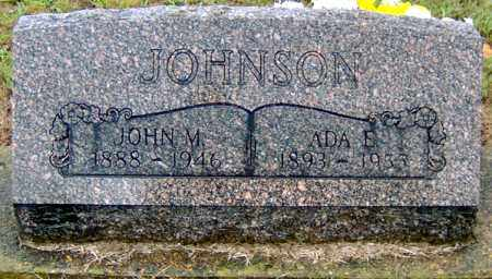 JOHNSON, JOHN M - Randolph County, Arkansas | JOHN M JOHNSON - Arkansas Gravestone Photos