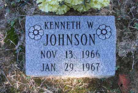 JOHNSON, KENNETH W. - Randolph County, Arkansas | KENNETH W. JOHNSON - Arkansas Gravestone Photos