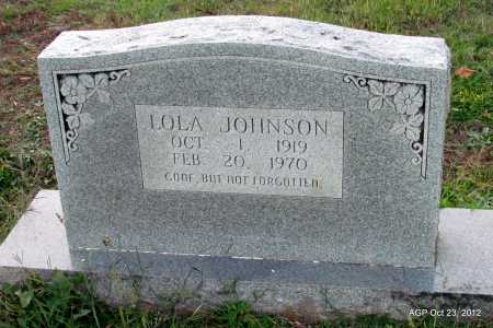 JOHNSON, LOLA - Randolph County, Arkansas | LOLA JOHNSON - Arkansas Gravestone Photos