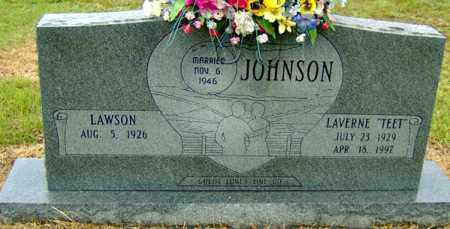 "JOHNSON, LAVERNE ""TEET"" - Randolph County, Arkansas 
